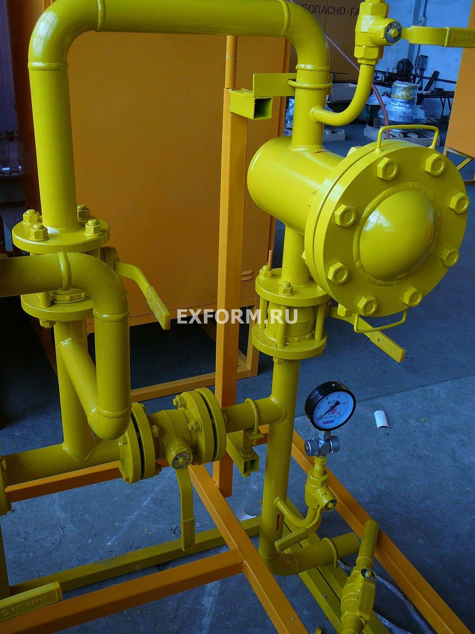 ГРУ-50Н-ЭК, ГРУ-50В-ЭК - цена газорегуляторной установки с РДП-50