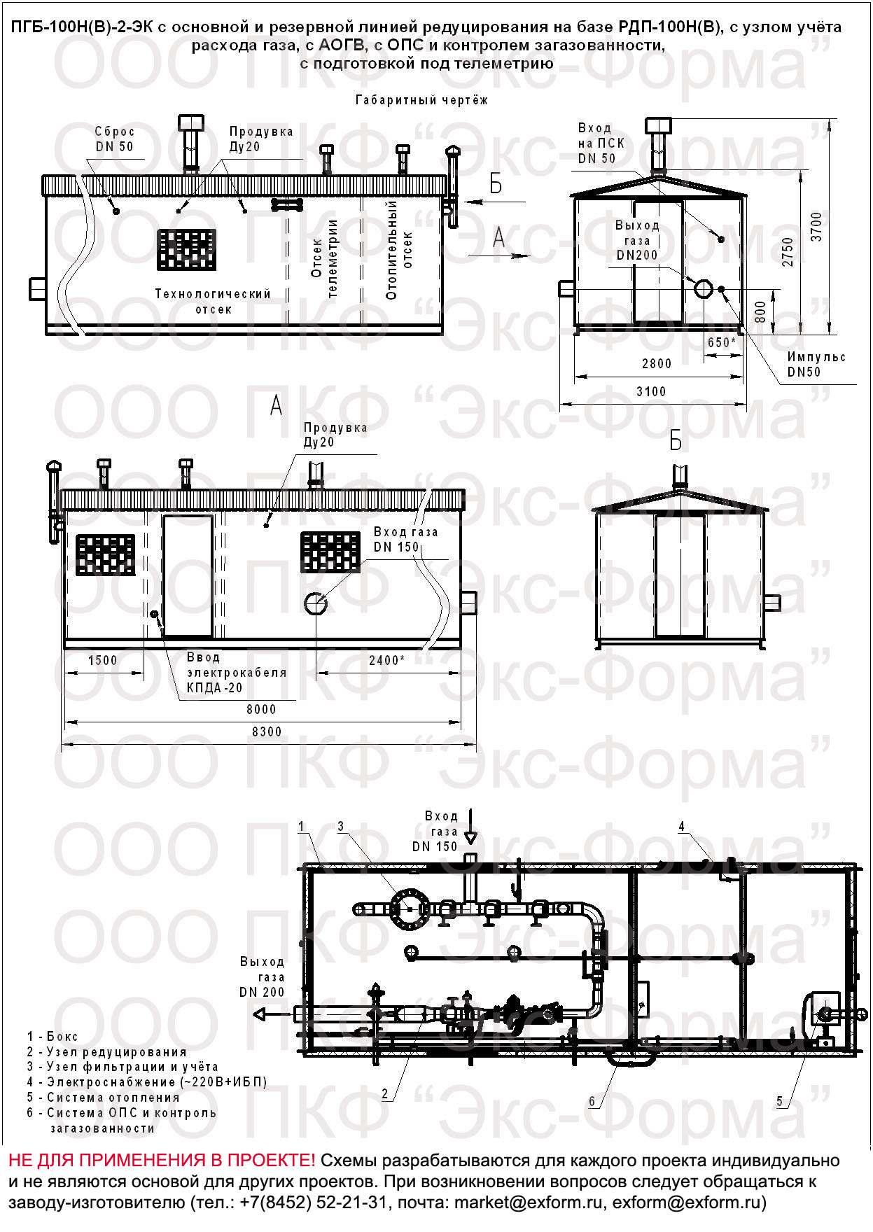 ПГБ-100Н-2, ПГБ-100В-2 цена с РДП-100Н(В)