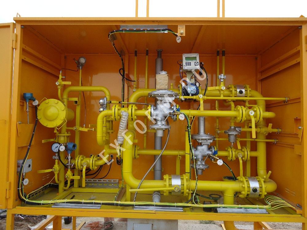 Газорегуляторная установка с телеметрией УГРШ(К)-50Н-2Т-ЭК