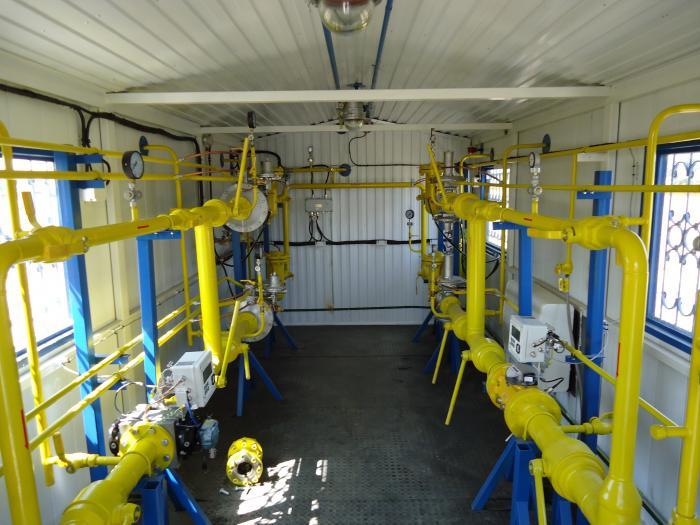 ПГБ на базе регуляторов давления газа РДК-50Н