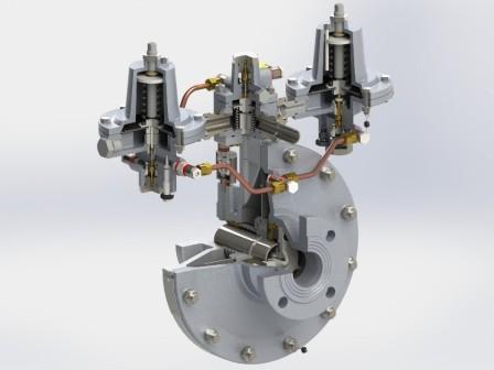 Прямоточный регулятор РДП 50 – серийное производство компанией Экс-Форма